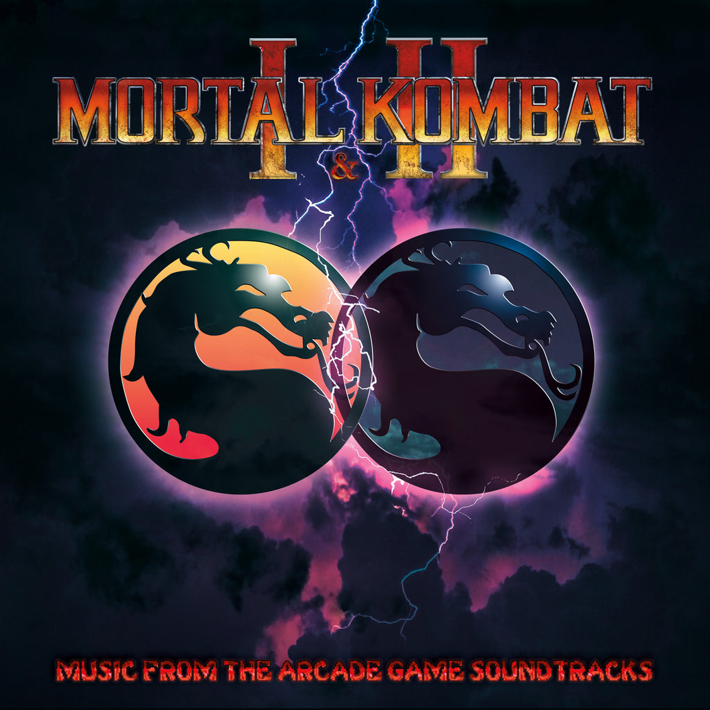 Mortal Kombat 1 & 2: Music from the Arcade Game Soundtracks LP