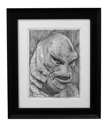 Creature from the Black Lagoon Pencils Jason Edmiston OG