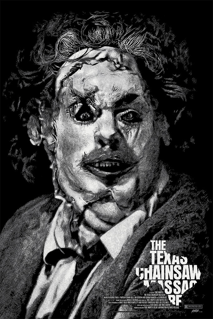 Texas Chainsaw Massacre Screenprinted Poster