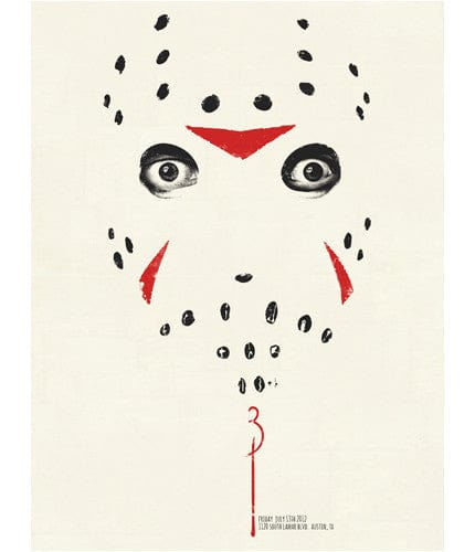 Friday the 13th Part 3 3D Jay Shaw poster
