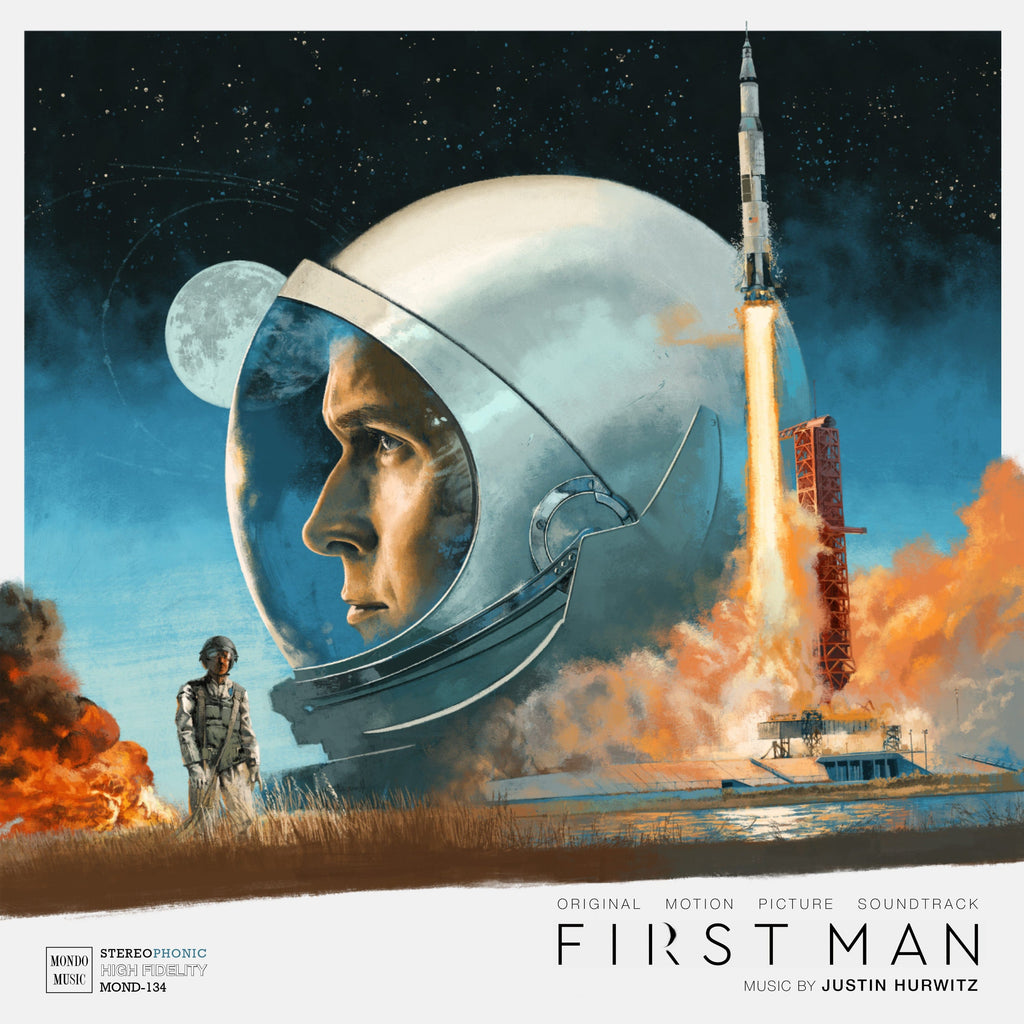 Image result for first man justin hurwitz vinyl