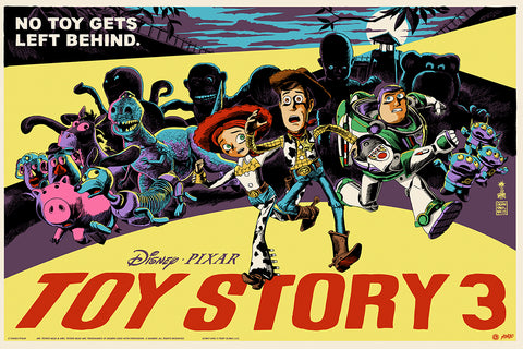 Toy Story 3 Screenprinted Poster