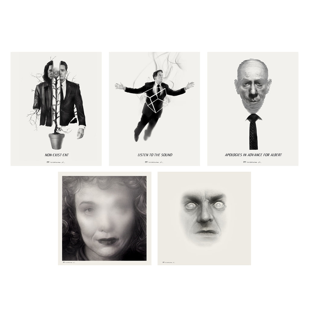 Twin Peaks Giclee Set - Series 1
