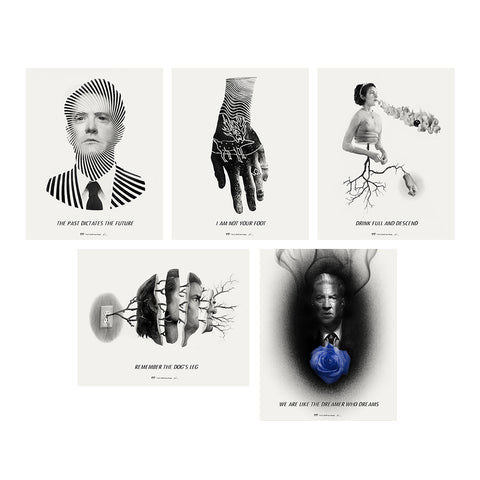 Twin Peaks Giclee Set - Series 12