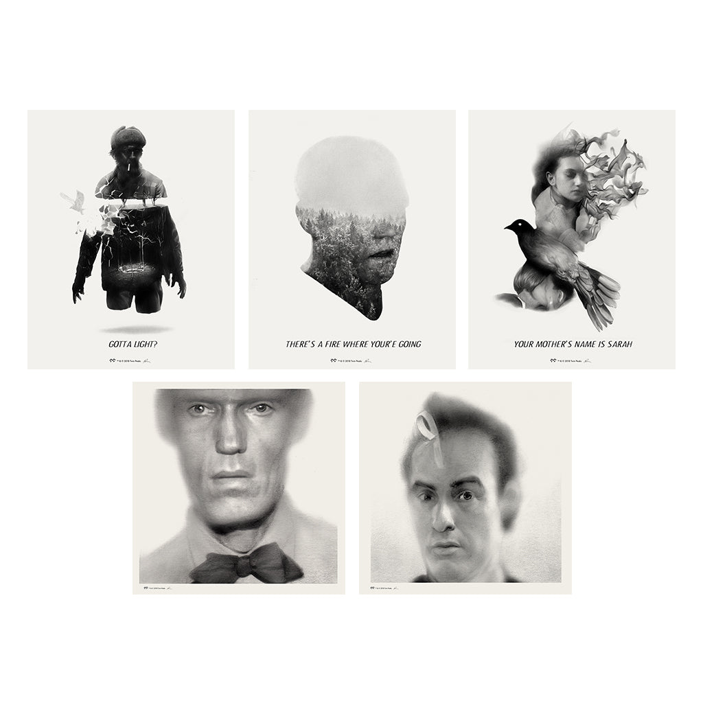 Twin Peaks Giclee Set - Series 5
