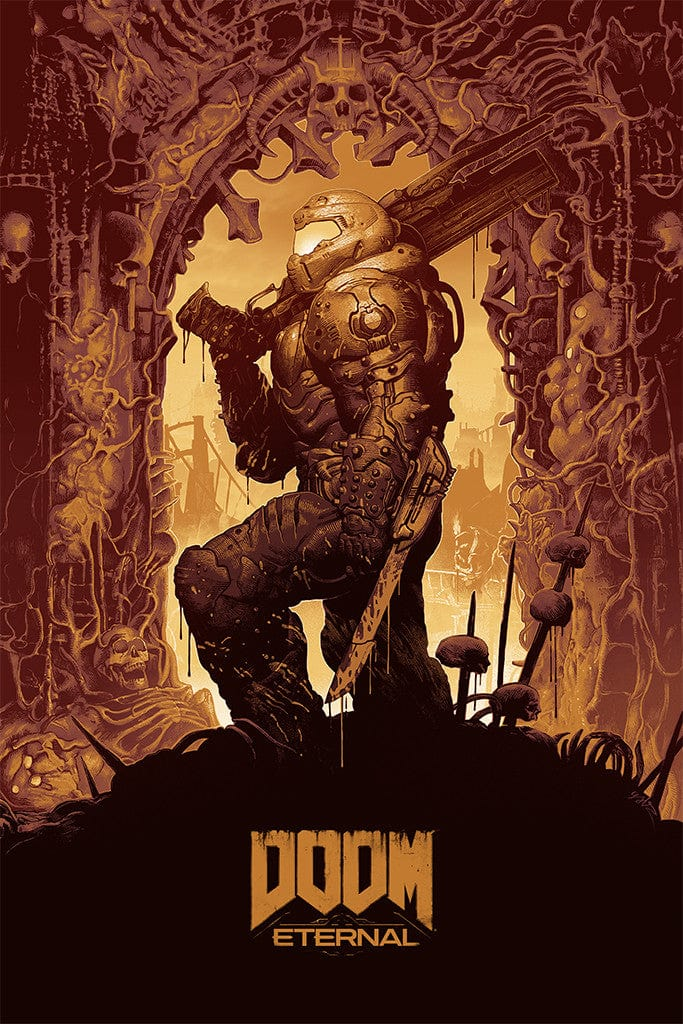 Doom Eternal (Variant) Screenprinted Poster