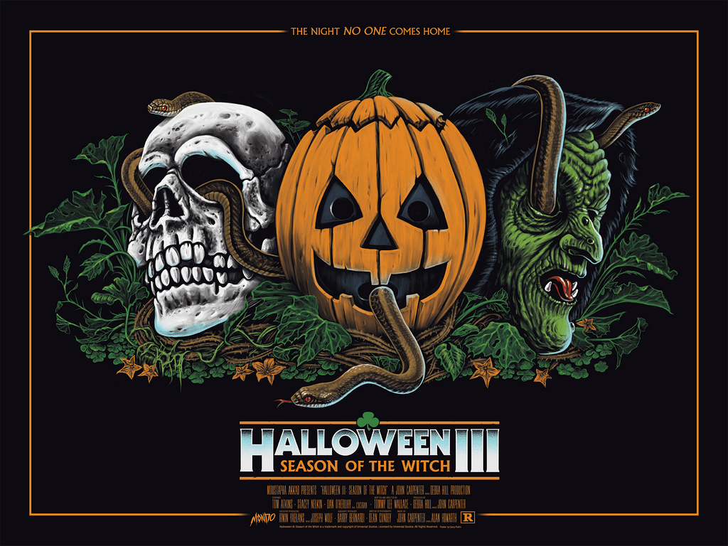 Halloween III: Season of the Witch by Gary Pullin – Mondo