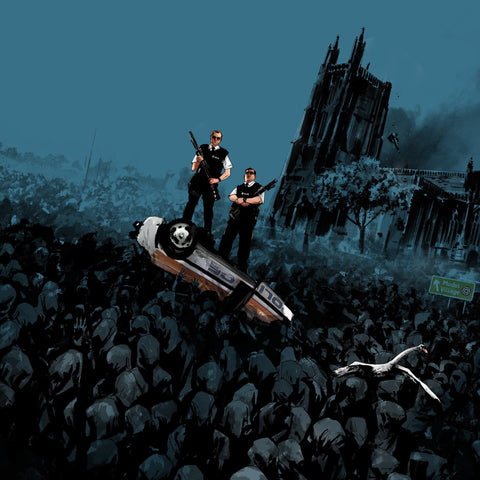 Hot Fuzz - Original Motion Picture Score LP