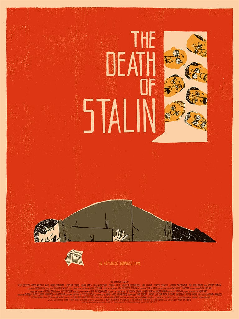Image result for poster death of stalin