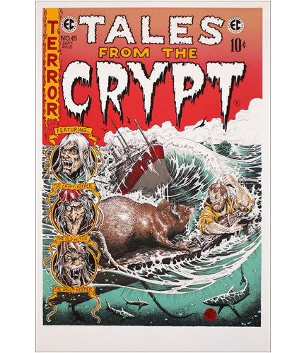 Tales from the Crypt Holt Brandon Holt poster