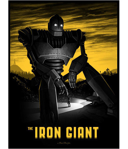 The Iron Giant Mike Mitchell poster