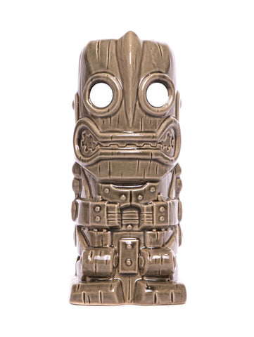 Iron Giant Ceramic Tiki Mug (Grey)
