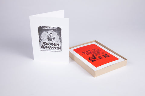 Letterpress Movie Cards (Series 1), Boxed Set of 10