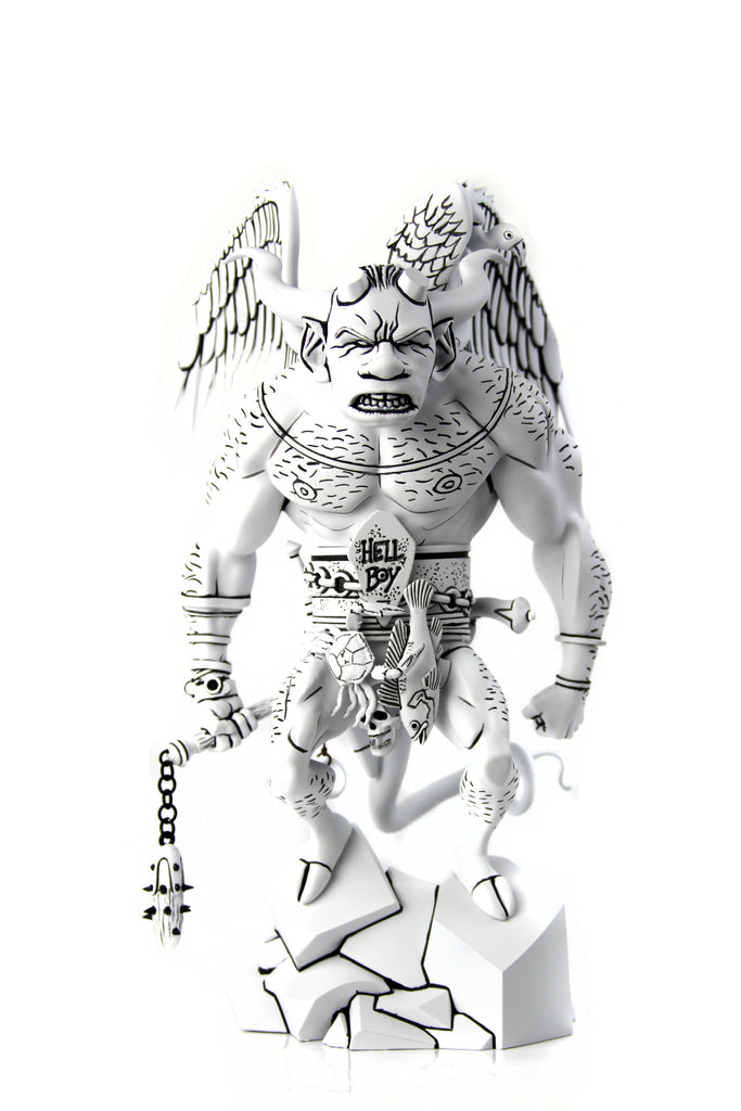 The First Hellboy Statue (B&W Mondo Exclusive)