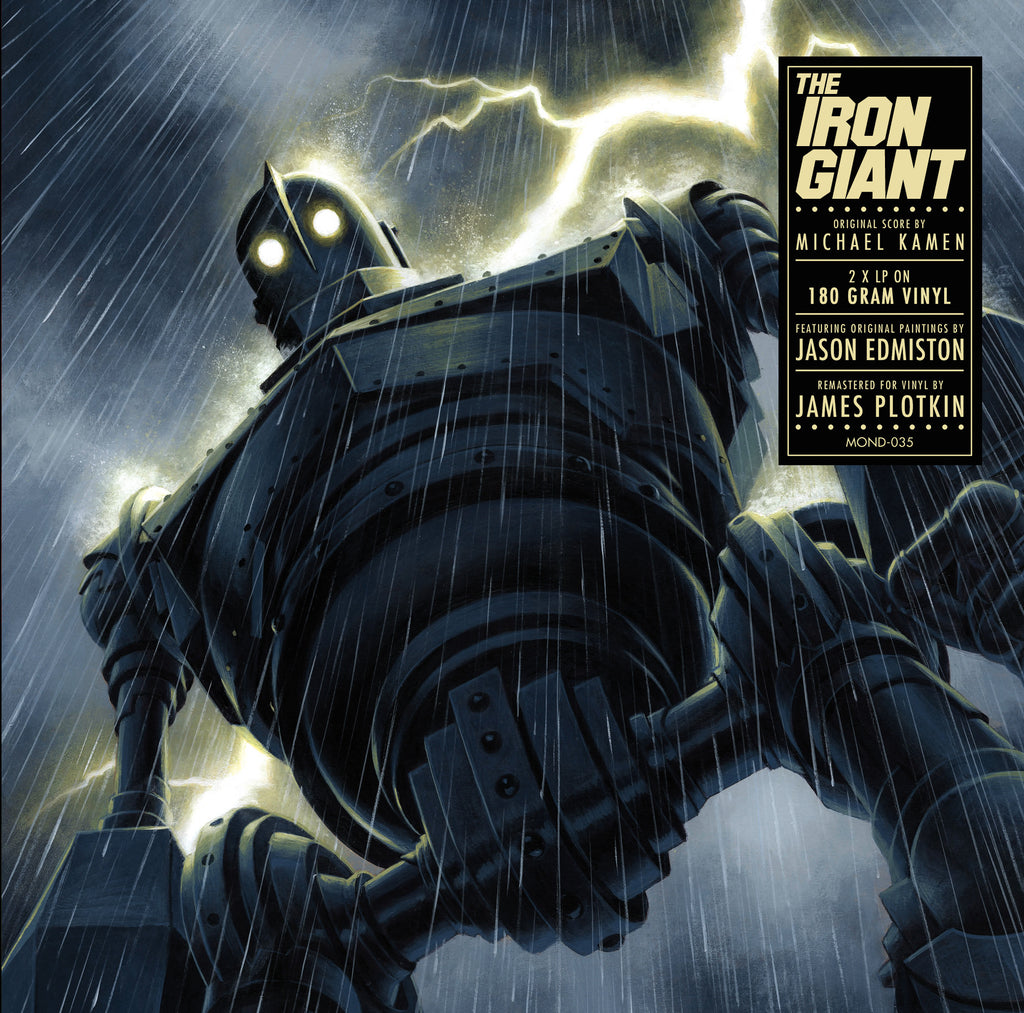 The Iron Giant - Original Motion Picture Soundtrack 2XLP (Version A)