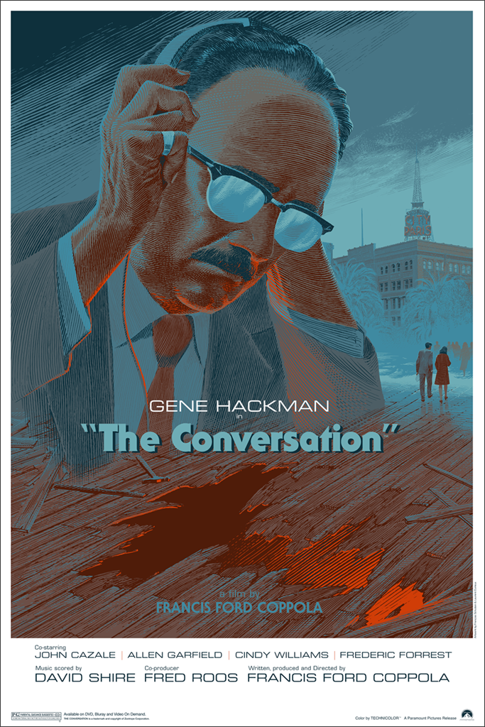 Image result for the conversation poster