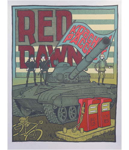 Red Dawn Jay Ryan poster