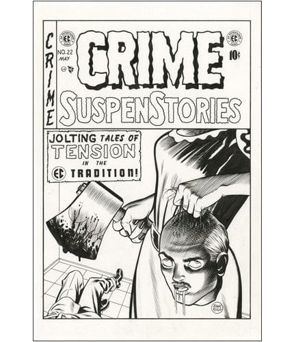 Crime SuspenStories 22 Jim Rugg OG
