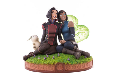 Korra & Asami in the Spirit World