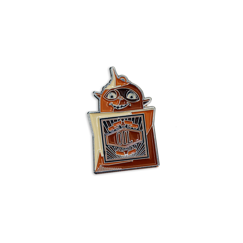 Oil Can Enamel Pin