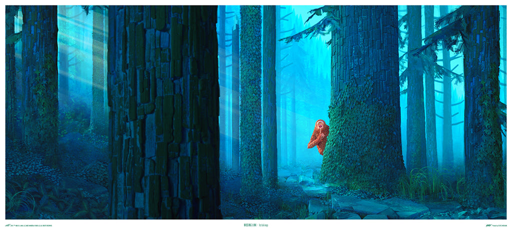 The Missing Link Giclee Poster