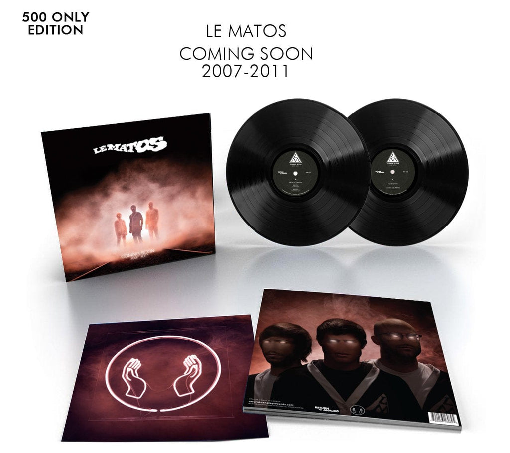 Coming Soon by Le Matos (Black Vinyl)