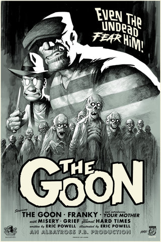 The Goon Screenprinted Poster