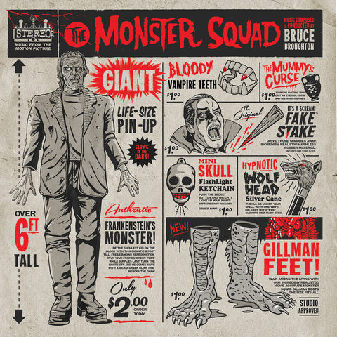 The Monster Squad - Original Motion Picture Soundtrack 2XLP
