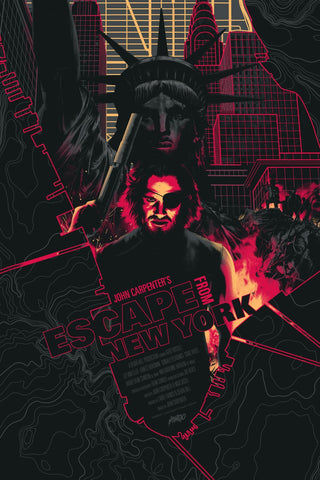 Escape from New York (Glow-in-the-Dark)