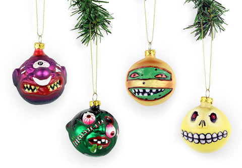 Madballs 4-Ornament Set