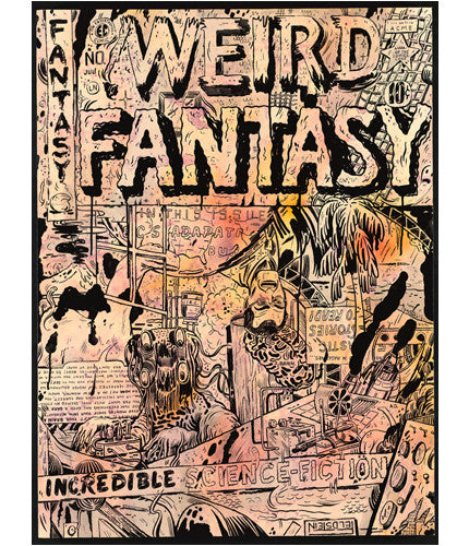 Weird Fantasy Cover Mark Todd OG