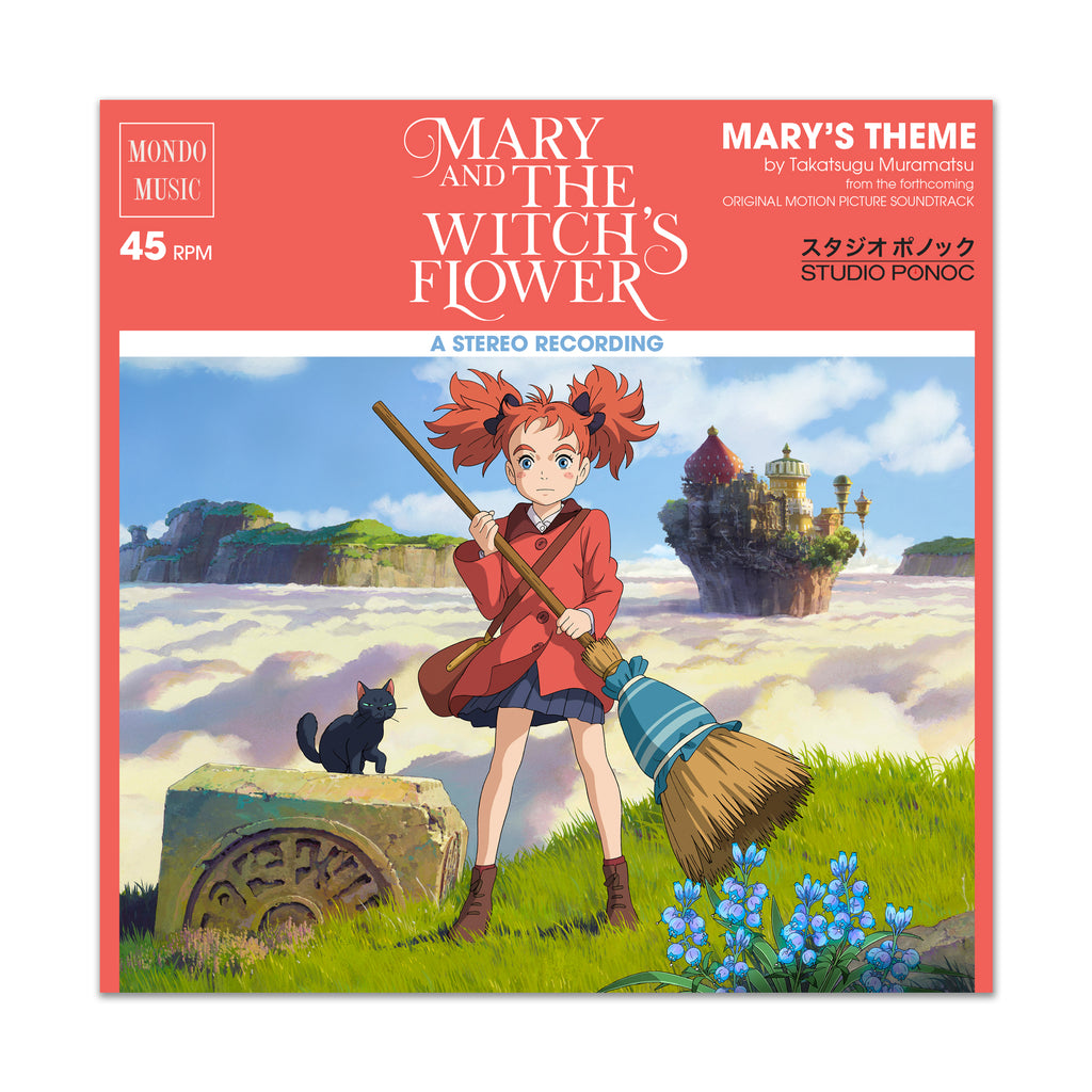 Mary and The Witch's Flower 7-Inch Single