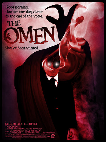 The Omen Screenprinted Poster