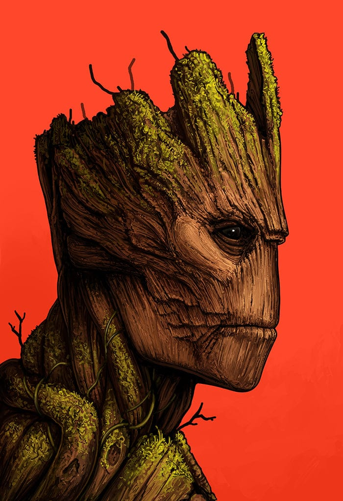 Groot By Mike Mitchell Mondo