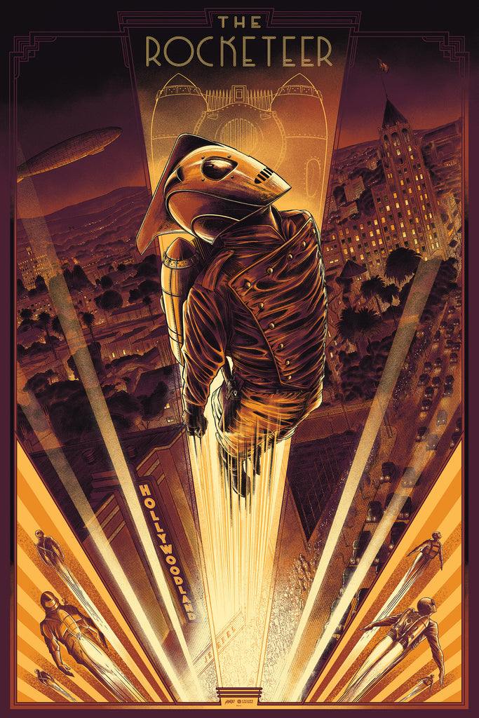 Mondo X Cyclops Print Works Print #21: The Rocketeer
