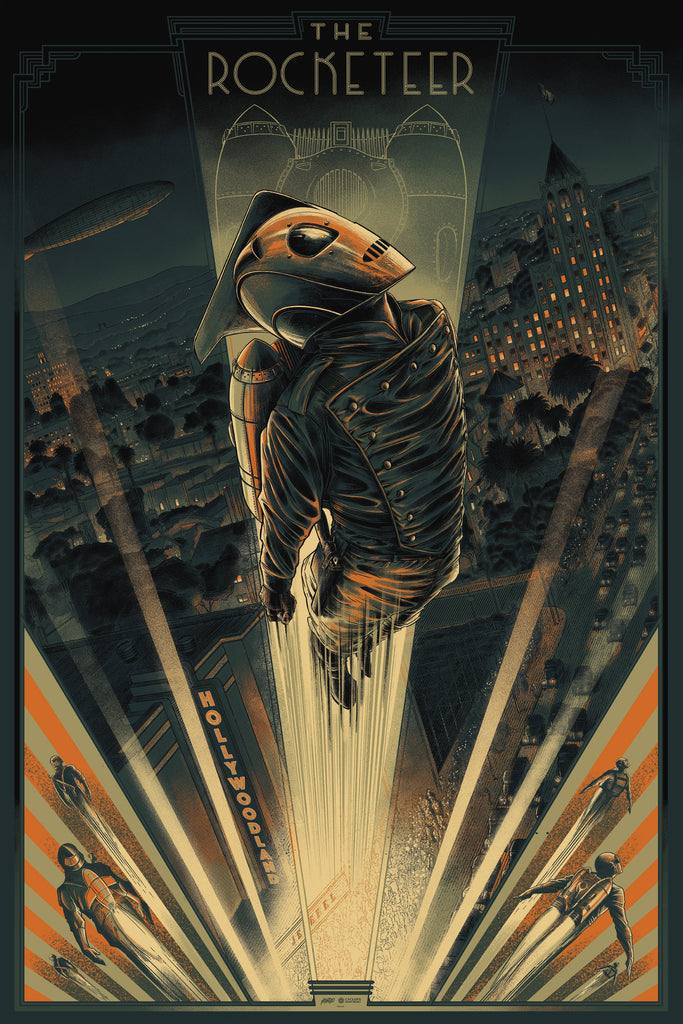 Mondo X Cyclops Print Works Print #21: The Rocketeer (Variant)