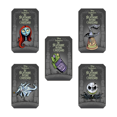 Nightmare Before Christmas 5-Pin Set