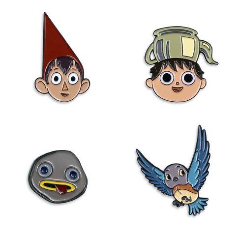 Over The Garden Wall Enamel Pin Set