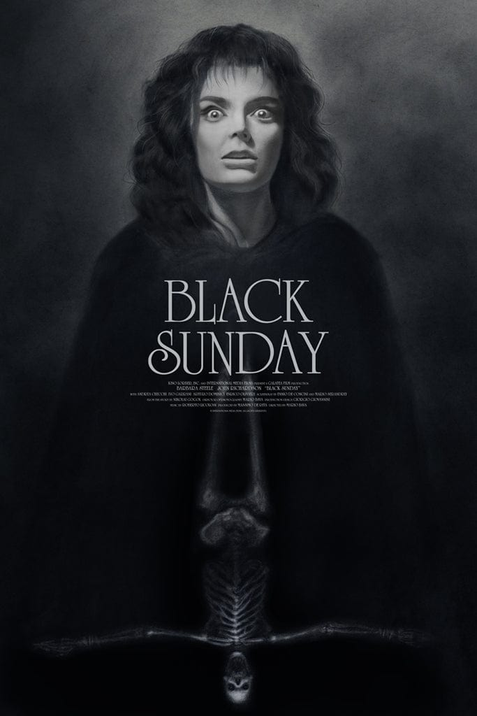 Black Sunday Screenprinted Poster