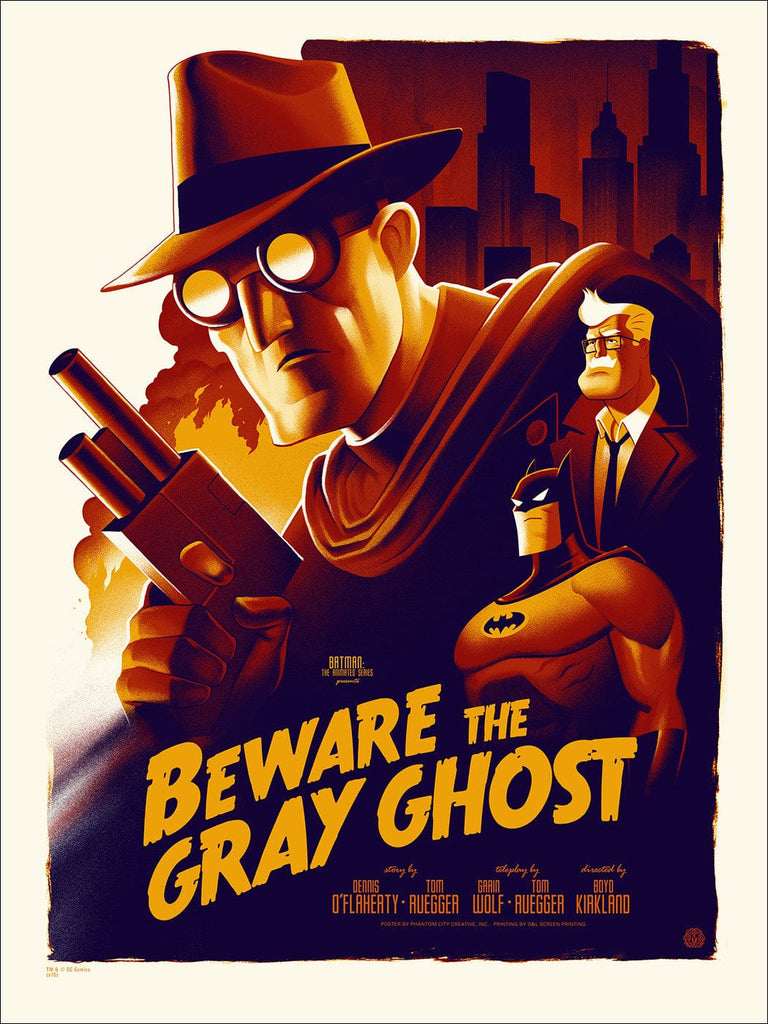 Batman: The Animated Series - Beware The Gray Ghost (Variant)