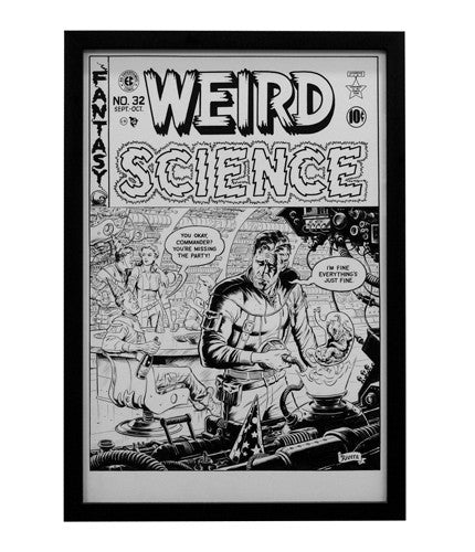 Weird Science Cover Paolo Rivera OG