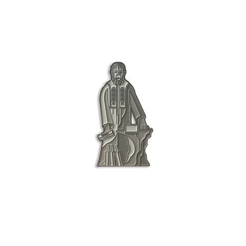 The Lawgiver Enamel Pin