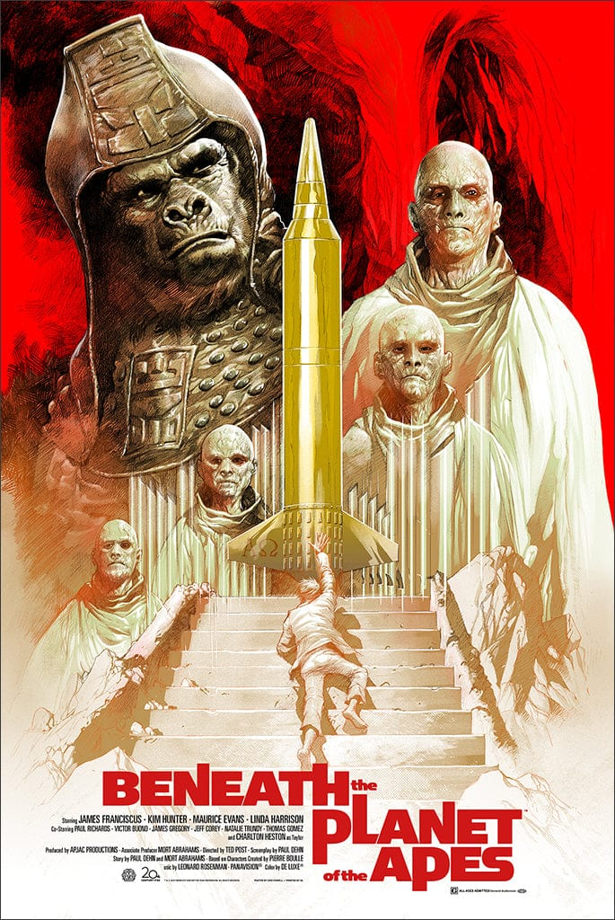 beneath planet of the apes by eric powell mondo