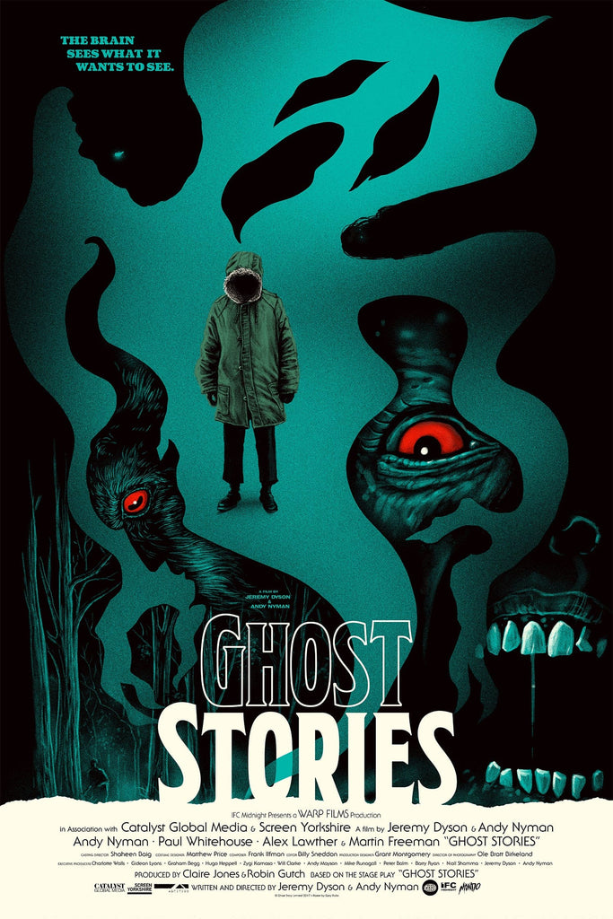 Ghost Stories Screenprinted Poster
