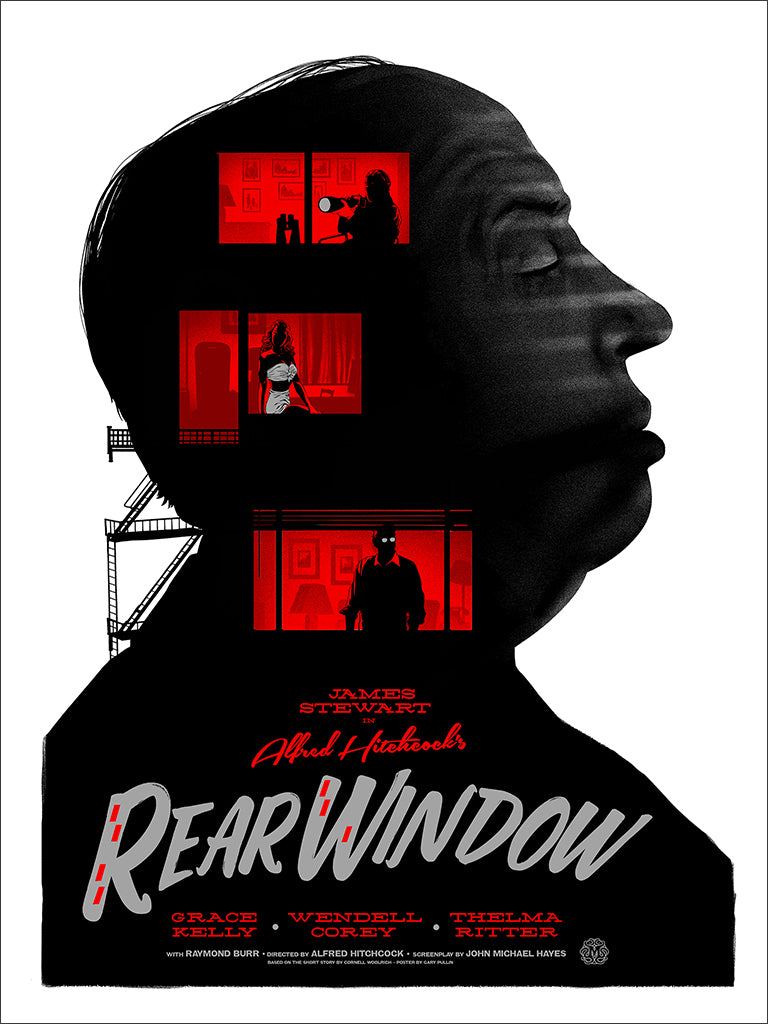 Rear Window (Variant) Screenprinted Poster