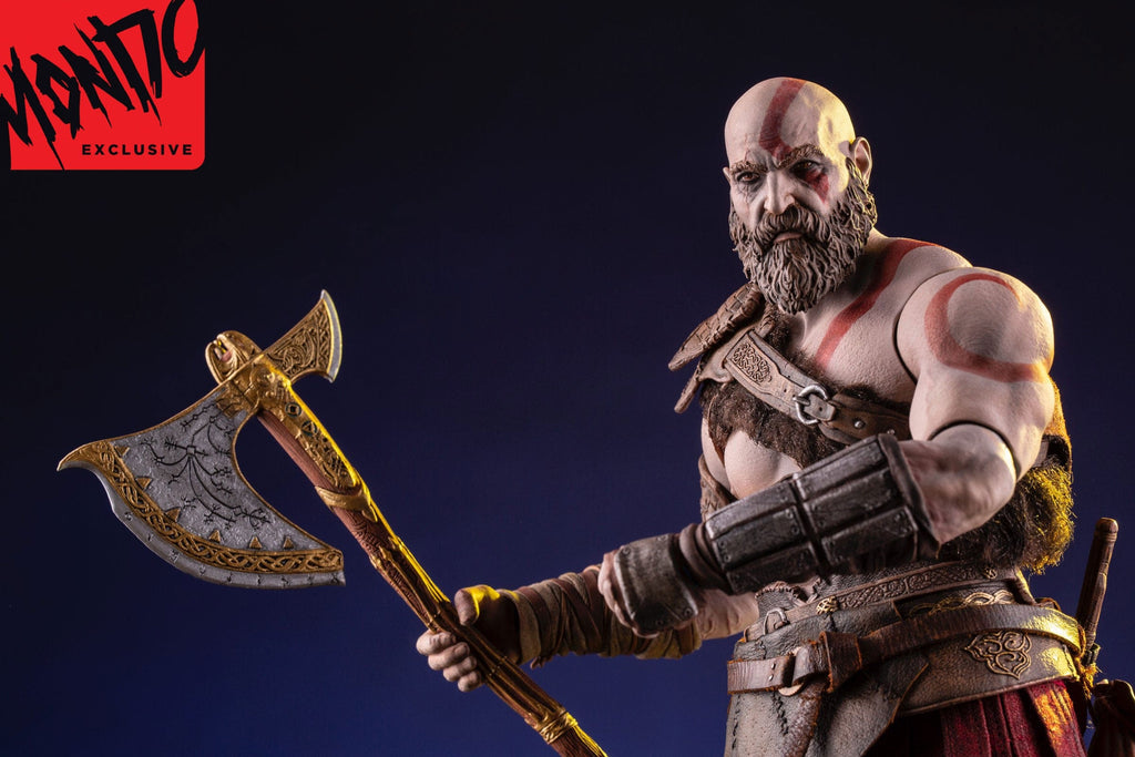God Of War Kratos 1 6 Scale Deluxe Figure Mondo Exclusive Pre Order