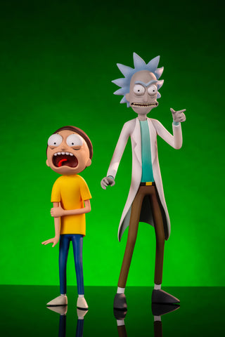 Rick & Morty Figure Set