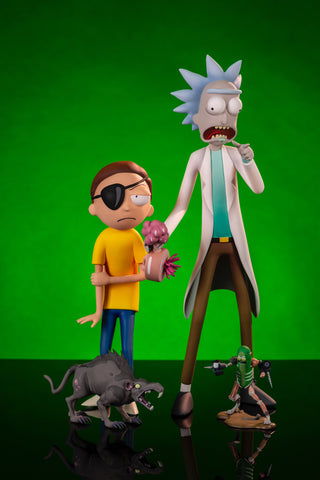 Rick & Morty Deluxe Figure Set - Mondo Exclusive