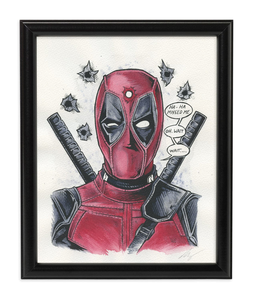 Deadpool (Watercolor)