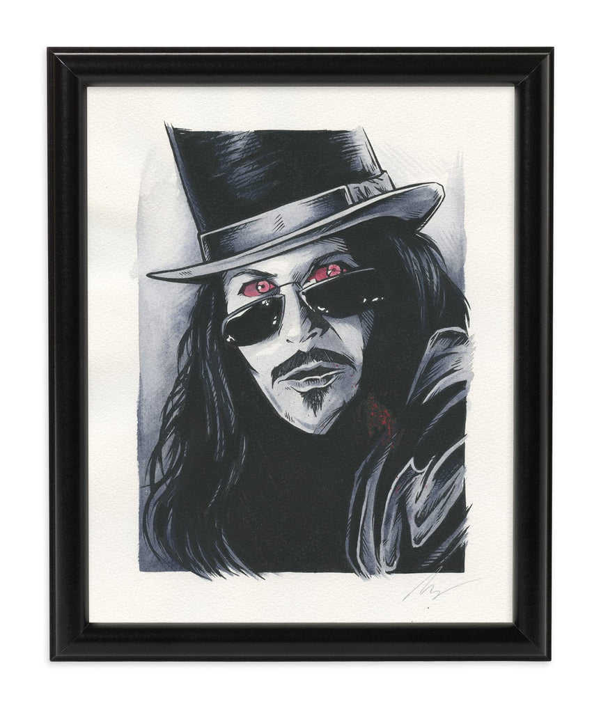 Dracula (Watercolor)